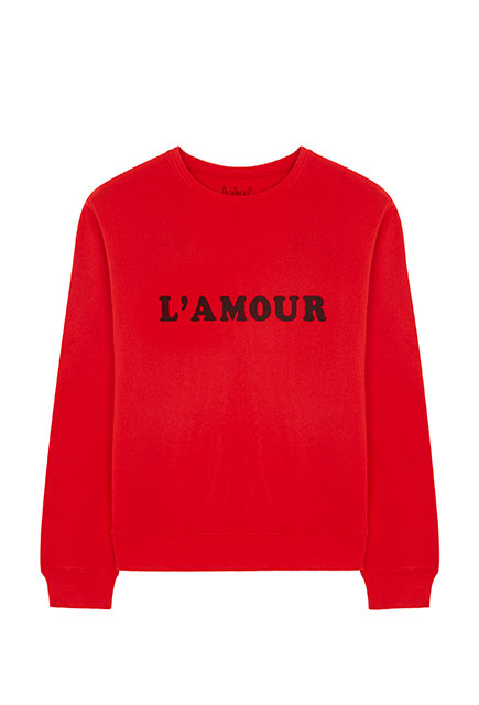 "Sweat-shirt Hug ""L'Amour"""