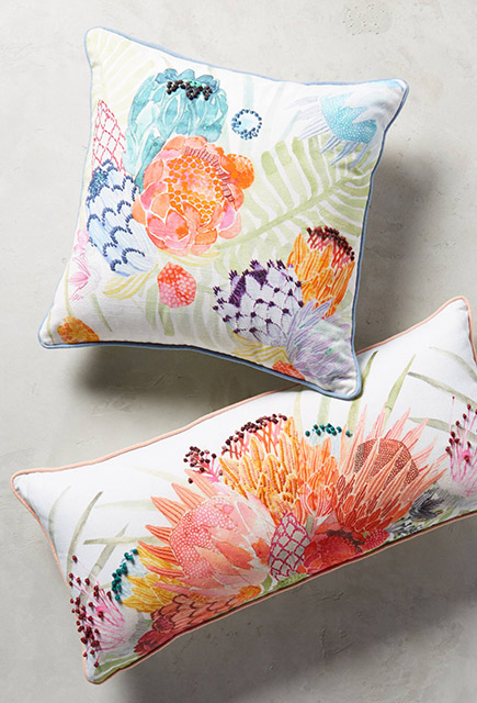 Coussins Anthropologie