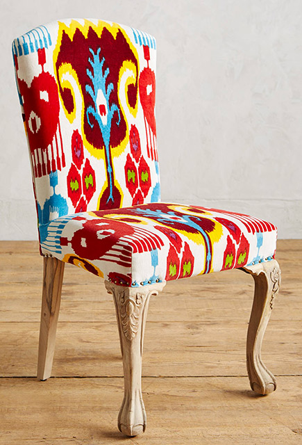 Chaise Ikat
