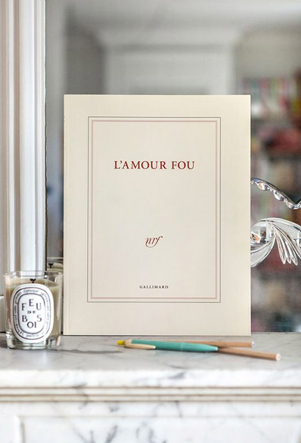 Cahier Papeterie Gallimard