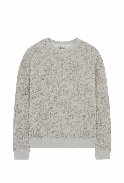 "Sweat-shirt Love ""Esquisse"""