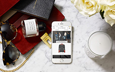 Good news // L'appli Net-A-Porter