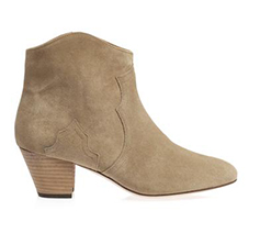 Bottines Isabel Marant sur MATCHES FASION