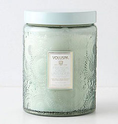 Bougie Voluspa sur Anthropologie