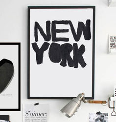 Affiche NEW YORK sur Bodie and Fou