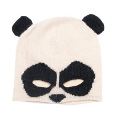 Bonnet panda OEUF NYC sur Smallable