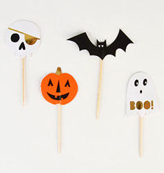 Toppers d'Halloween sur My Little Day