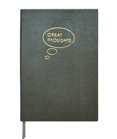 Carnet 'Great Thoughts' sur Sloane Stationery