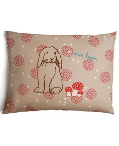 Coussin lapin Mimi ' Lou sur The Little Factory
