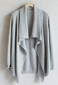 Cardigan en cachemire sur The White Company