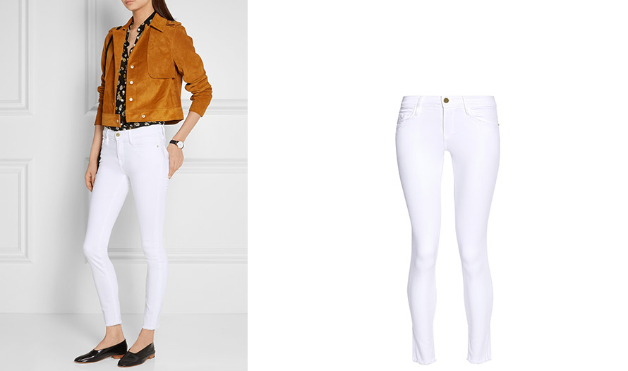 The Frame Denim white jeans - Shop online - NETTEMENT CHIC