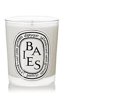 Scented candle by Diptyque