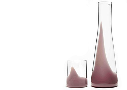 Carafe and glass set