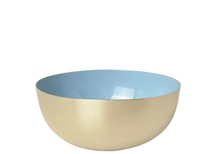 Metal bowl by Louise Roe