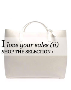 I love your sales (ii)