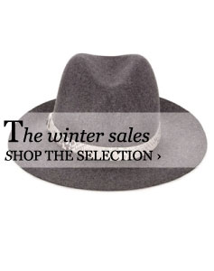The winter sales